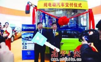 中山市大力推广新能源纯电动公交汽车