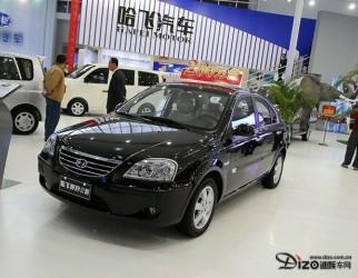 最优性价比 哈飞赛豹纯电动车亮相北京车展(图)