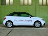 奥迪A1 e-tron 首款高续航里程电动汽车原型 (7图)