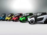丰田i-road城市电动车