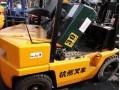 回收3吨杭州二手叉车二手柴油叉车
