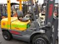 回收二手3吨tcm合力叉车二手内燃式叉车