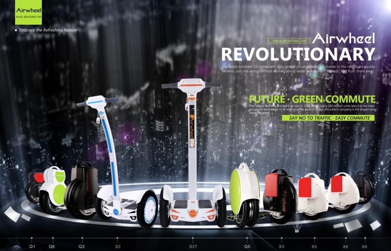 爱尔威电动平衡车参加瑞典斯德哥尔摩帆船展