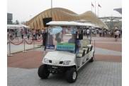 2014新款8座电动观光车高尔夫球车四轮房产看房电瓶车