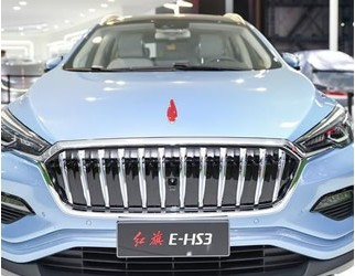 红旗首款纯电动SUV E-HS3 主打时尚的年轻消费群体