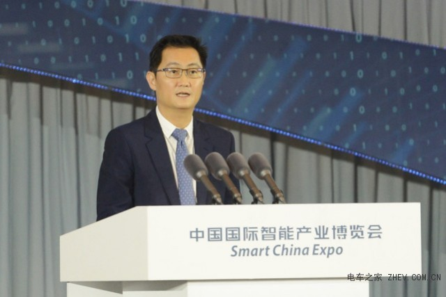 腾讯马化腾透露与长安汽车进行车联网领域的合作信息