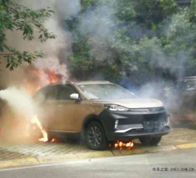 威马电动汽车自燃事件 威马汽车发表声明澄清