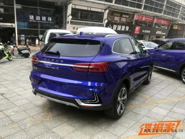 荣威MARVEL X 2018成都车展探馆