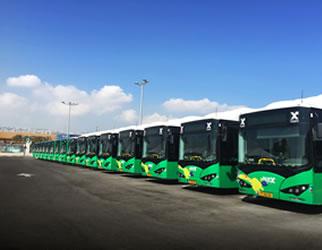 开启圣城公交电动化新时代 比亚迪驶入世界中心耶路撒冷