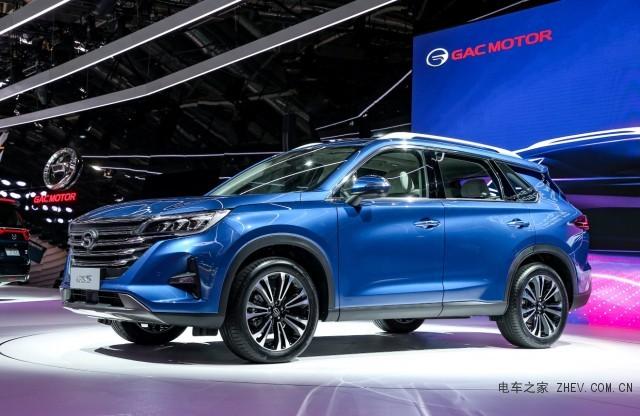 预售价12万起全新传祺GS5 2018巴黎车展