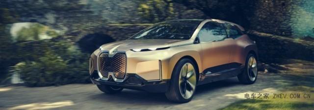 人车互动更紧密! BMW推未来智慧电动汽车