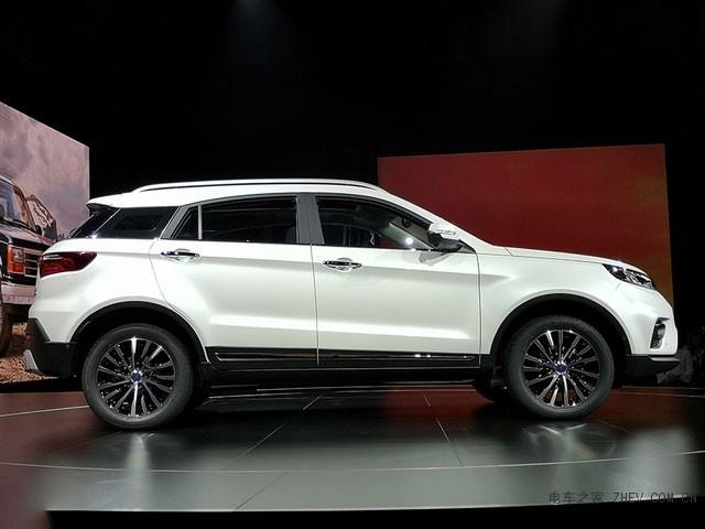 福特全新领界正式亮相 将于明年初上市