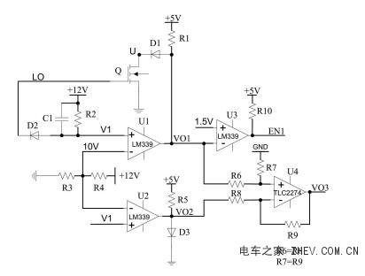 基于mosfet的电流检测电路