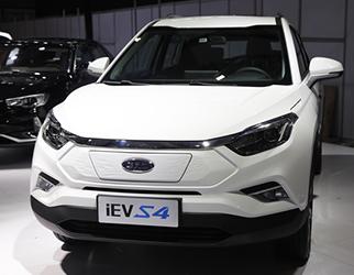 江淮iEV S4工况续航400公里 外观基于燃油版打造