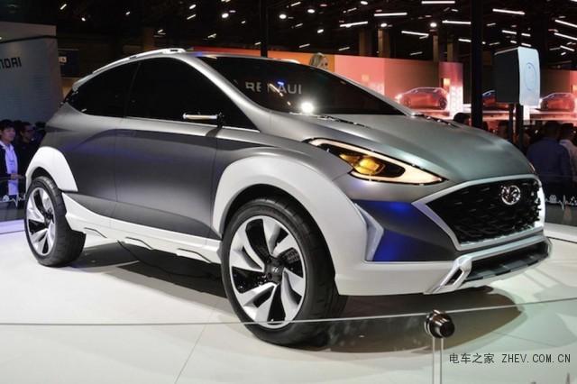 现代Saga EV概念车发布 定位纯电动SUV