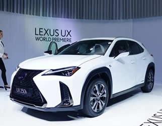 雷克萨斯ux上市推燃油版 混动版6款车型预售26.99万