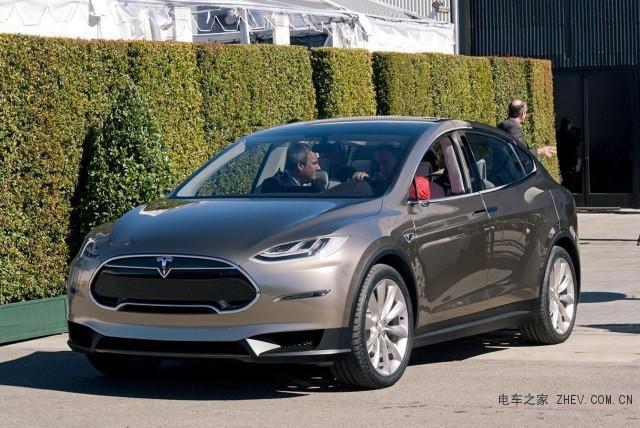 特斯拉Model X www.zhev.com.cn