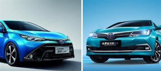 双擎E+ 丰田卡罗拉和雷凌怎么选?