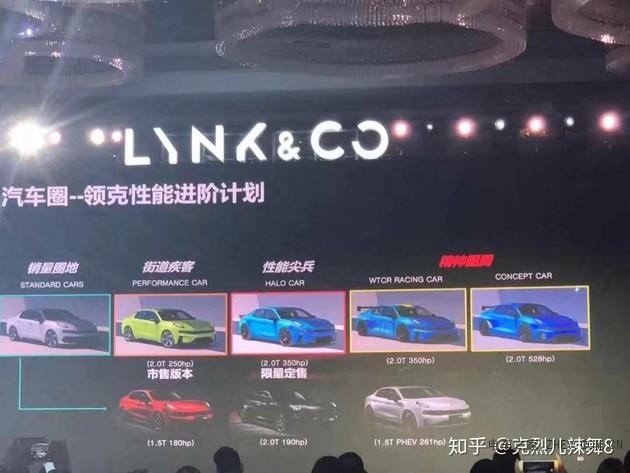 领克2019上海车展阵容 带来三款新车