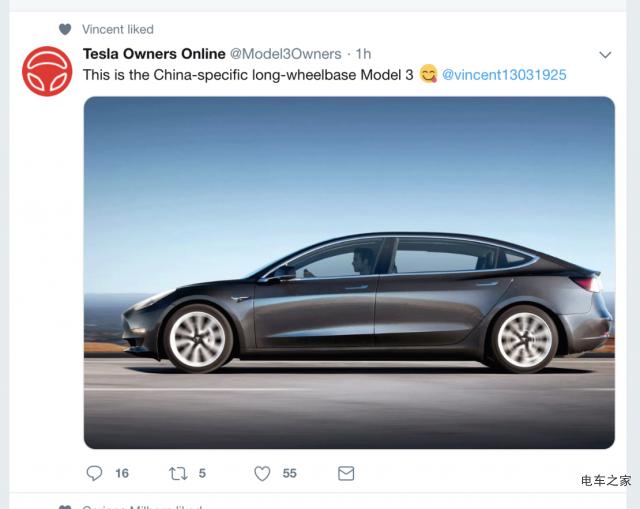 国人汽车喜欢加长版 特斯拉Model 3国产会提供加长版吗?