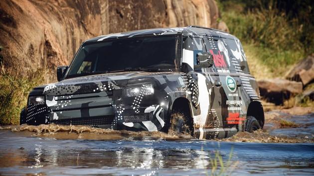 路虎全新卫士将提供多款混动车型 明年国内销售