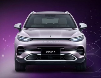 腾势X官图发布 新车即将亮相广州车展