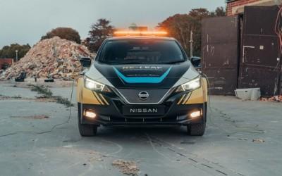 日产RE-LEAF概念车发布旨在提供应急供电