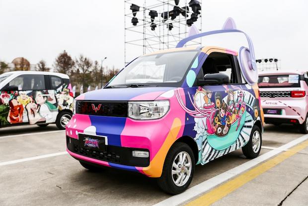 全球小型电动车GSEV亮相2021年新能源汽车下乡全国首站活动