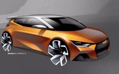 雪佛兰发布全新两厢车型 或采用纯电驱动