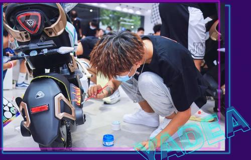 开启创意焕装新玩法,雅迪电动车打造年轻一代骑行新花YOUNG