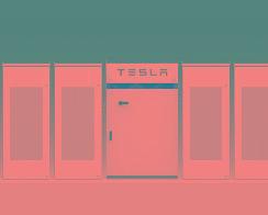 大众将在美国充电站使用特斯拉储能电池 【图】