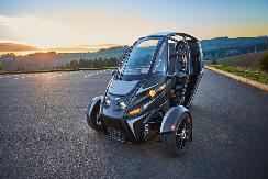 美国Arcimoto推出三轮电动车 可合法上路 【图】