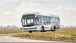 """继荷兰后,比亚迪纯电动大巴""""登陆""""欧洲第二个机场"""