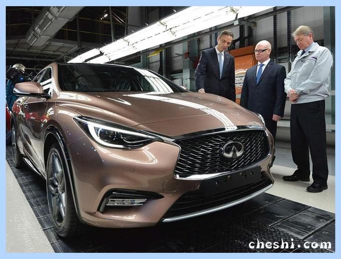 英菲尼迪发力国内市场 将推出5款混动+纯电动车 【图】