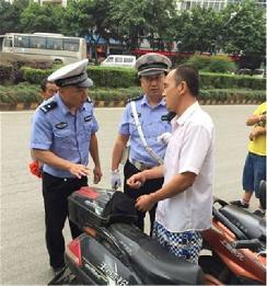 沈阳启动36处电动自行车交通安全教育站