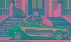 布加迪拟推出电动豪华轿车 【图】
