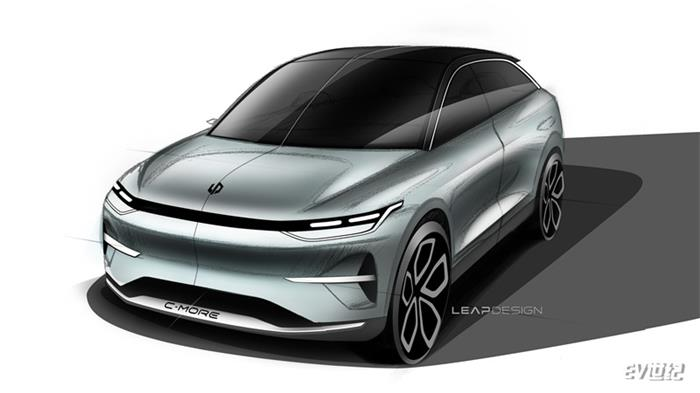 零跑汽车首款跨界SUV概念车设计图发布 【图】