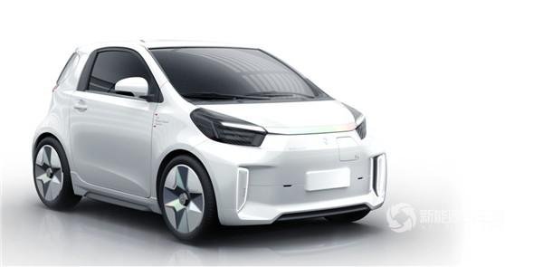 2019上海车展:奇点汽车微型智能电动车iC3正式首发亮相