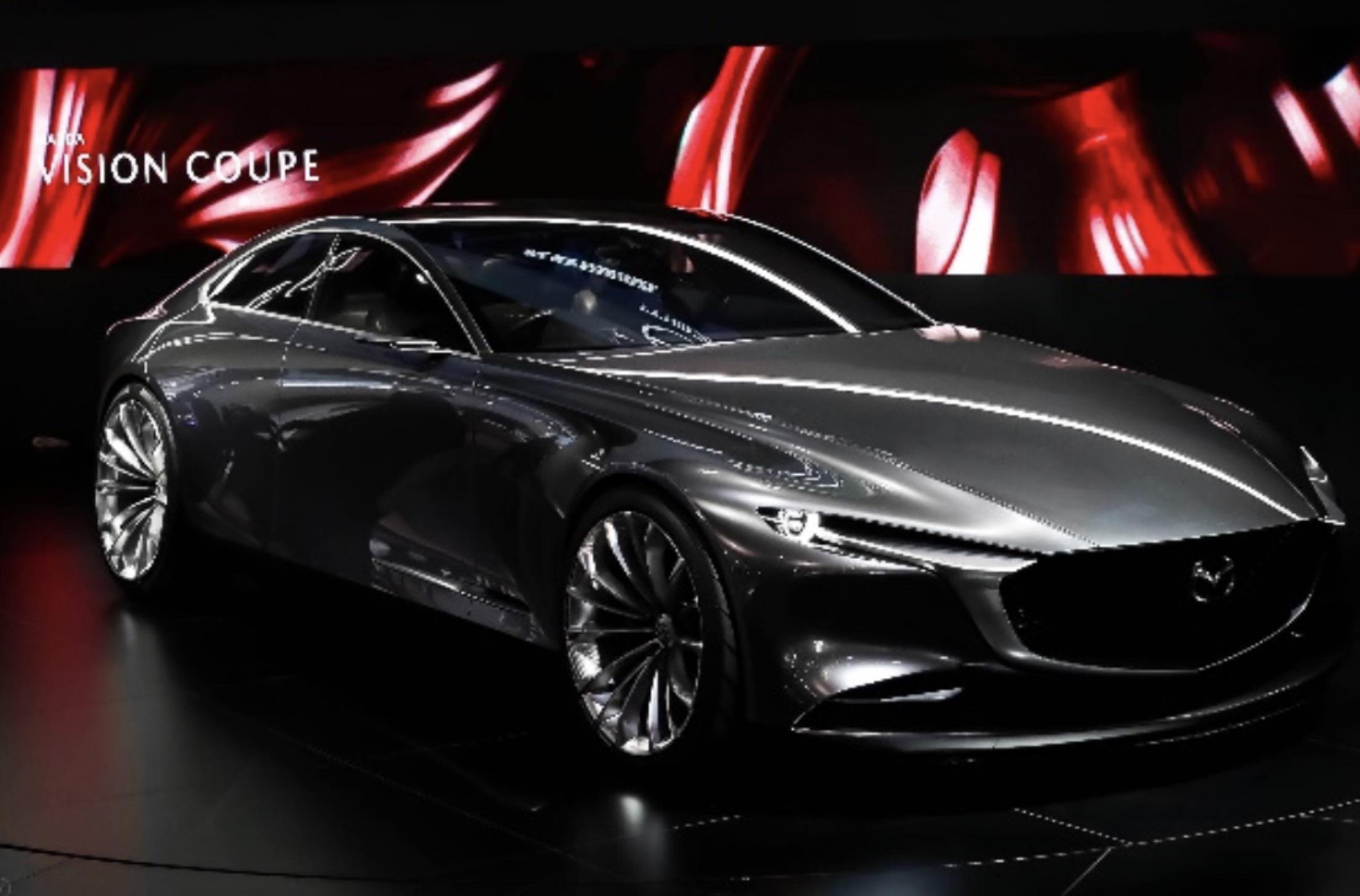 马自达Mazda VISION COUPE概念车