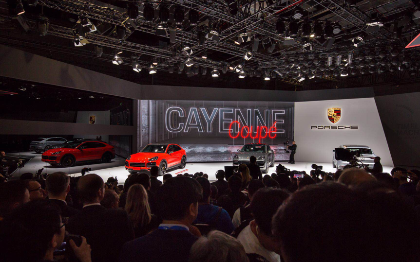 两款首发:全新 Cayenne Coupé 与全新 911 惊艳上海车展 【图】