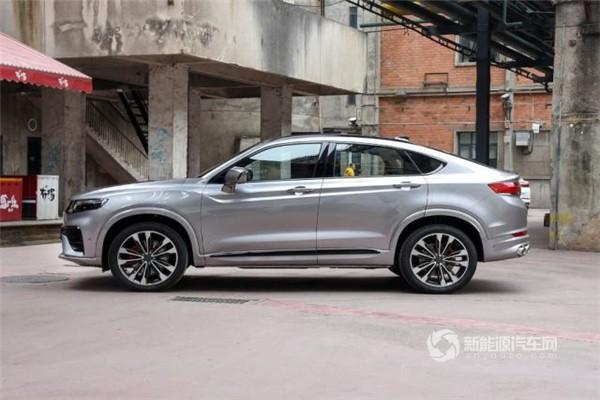 售价13.58-21.68万元 吉利全新轿跑SUV吉利星越正式上市