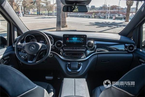 4月国内首秀 全新纯电MPV奔驰EQV量产版9月发布