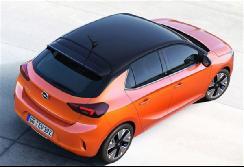 全新欧宝Corsa电动版官图发布 将于法兰克福车展亮相