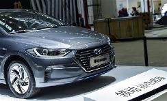 1.6L混动系统 现代领动插混版亮相深港澳车展