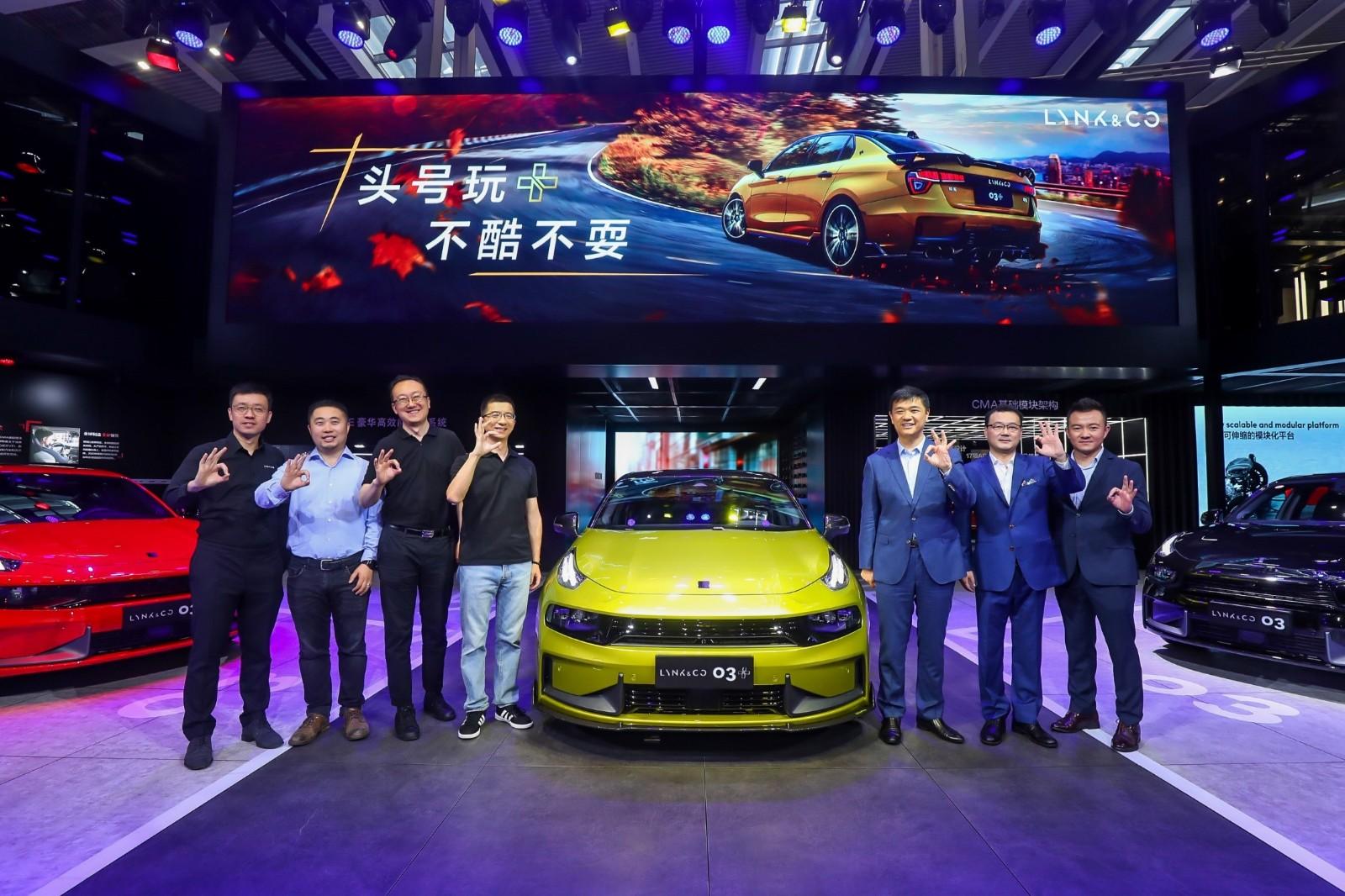 2019深港澳国际车展,领克03+震撼首发