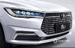 续航与特斯拉Model 3比肩 比亚迪全新秦EVZ整车官图曝光
