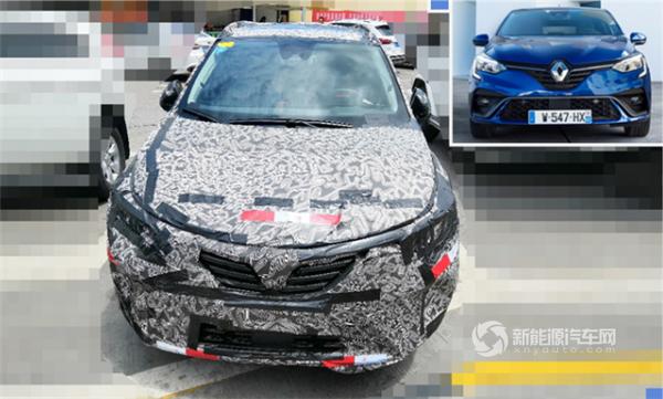 或同步推混动版 全新雷诺Clio RS Line车型海外市场上市