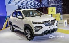 续航270公里 东风雷诺City K-ZE纯电SUV将9月5日上市