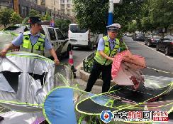 严治!江西吉水交警开展电动车、摩托车专项整治行动