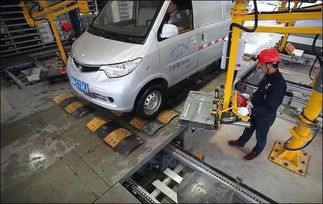 电动汽车换电路线一直有企业在坚持